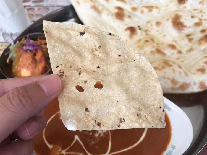 インド料理サプナ長崎矢上店のパーパル