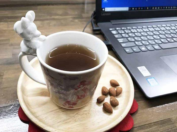 仕事中にも「宮古ビデンスピローサ茶」