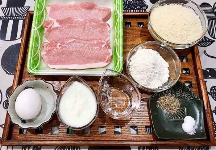 特損れレシピ 絶品とんかつ 材料