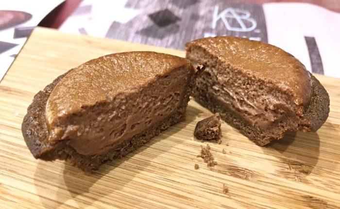 ベイク2019バレンタイン限定「焼きたてチョコレートチーズタルト」オーブントースターで焼いてみました