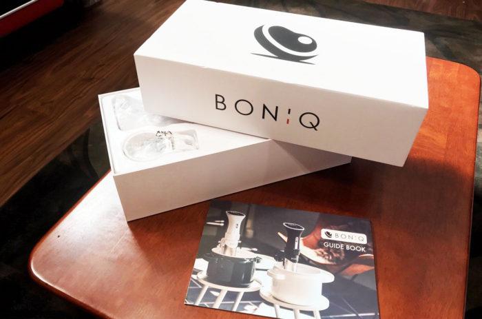 BONIQ真空低温調理器 箱に入って到着