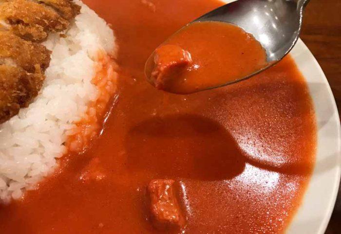 長崎カレーの夕月 ルーに入ってる肉