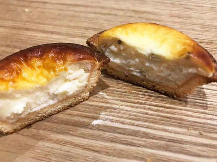 【ベイクチーズタルト】ブランド初の塩味タルト「ブラックペッパーチーズタルト」-アミュプラザ長崎店 比較