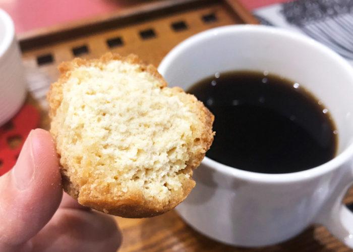 沖縄サーターアンダギの簡単レシピ 中も詰まっている