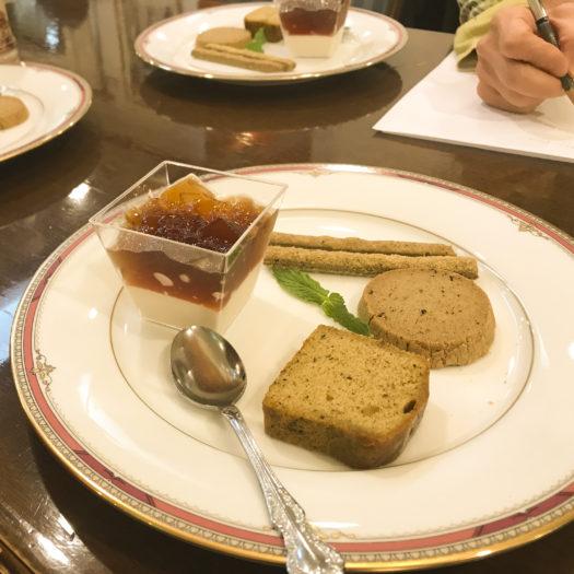 梅月堂 月一回 北村製茶コラボお菓子試食会