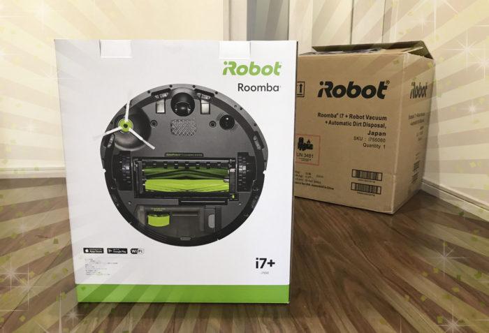 アイロボット ファンプログラムMVP賞品 ルンバi7+