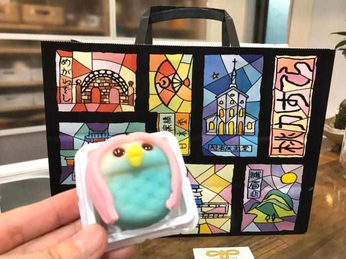 長崎白水堂 アマビエ 和菓子 パッケージも素敵