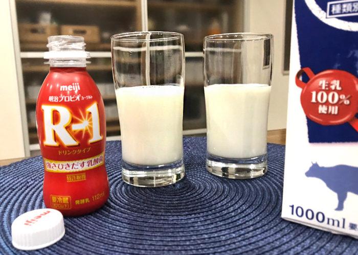 R1飲むヨーグルト ヨーグルトメーカー 飲み比べ